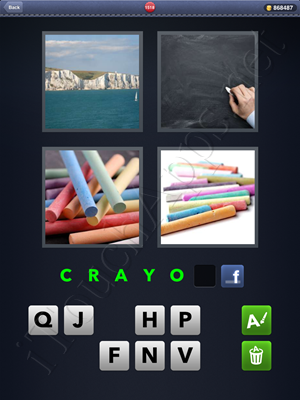 4 Pics 1 Word Level 1518 Solution