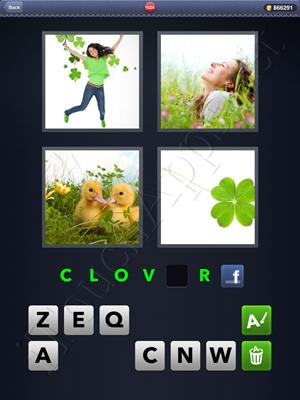 4 Pics 1 Word Level 1524 Solution