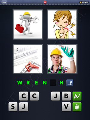 4 Pics 1 Word Level 1540 Solution