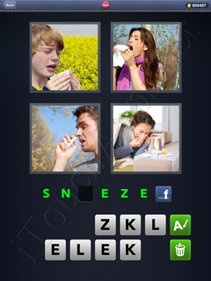 4 Pics 1 Word Level 1543 Solution