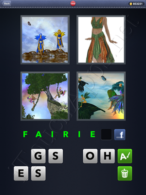 4 Pics 1 Word Level 1559 Solution