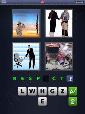4 Pics 1 Word Level 1587 Solution