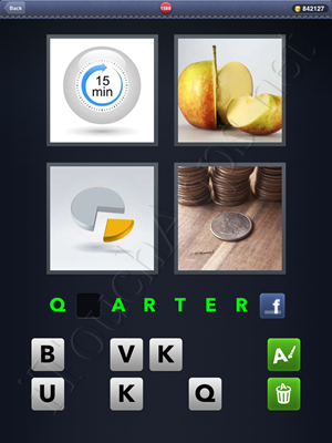 4 Pics 1 Word Level 1588 Solution