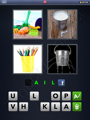 4 Pics 1 Word Level 1601 Solution