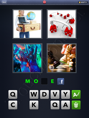 4 Pics 1 Word Level 1614 Solution