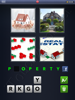 4 Pics 1 Word Level 1615 Solution