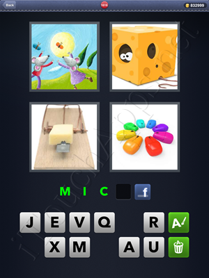4 Pics 1 Word Level 1616 Solution