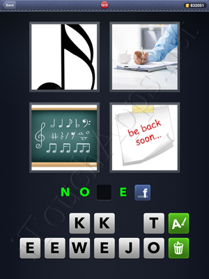 4 Pics 1 Word Level 1619 Solution