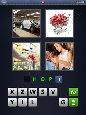 4 Pics 1 Word Level 1628 Solution