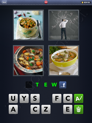 4 Pics 1 Word Level 1630 Solution