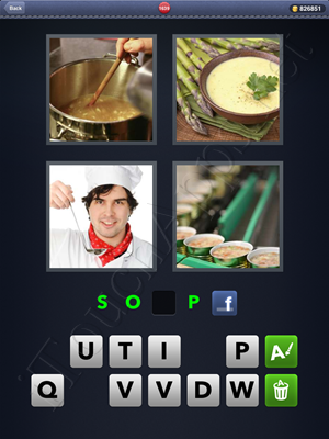 4 Pics 1 Word Level 1639 Solution