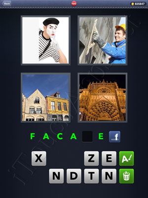 4 Pics 1 Word Level 1643 Solution