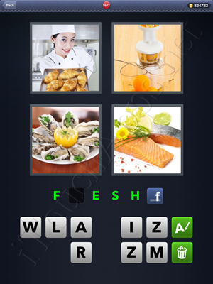 4 Pics 1 Word Level 1647 Solution