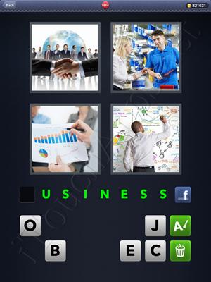 4 Pics 1 Word Level 1654 Solution