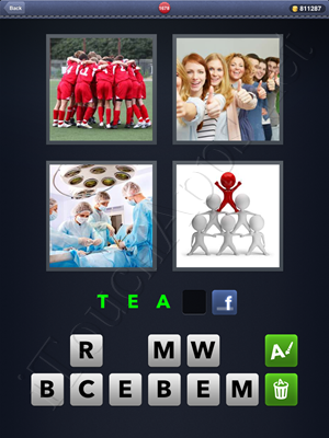 4 Pics 1 Word Level 1678 Solution