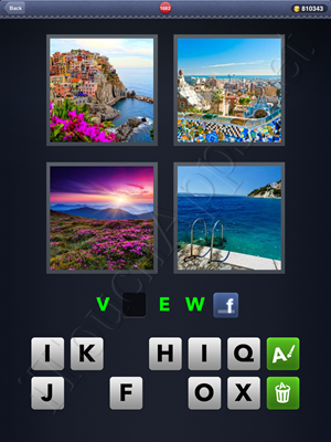 4 Pics 1 Word Level 1682 Solution
