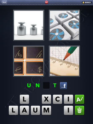 4 Pics 1 Word Level 1687 Solution