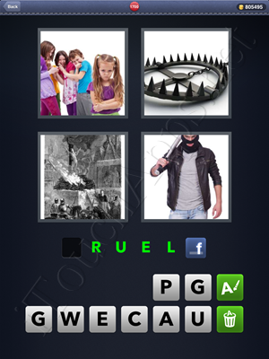 4 Pics 1 Word Level 1700 Solution