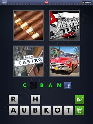 4 Pics 1 Word Level 1702 Solution