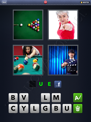 4 Pics 1 Word Level 1707 Solution