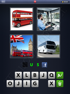 4 Pics 1 Word Level 1709 Solution