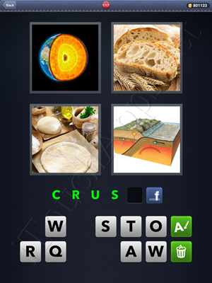 4 Pics 1 Word Level 1717 Solution