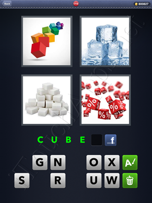 4 Pics 1 Word Level 1718 Solution
