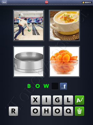 4 Pics 1 Word Level 1720 Solution