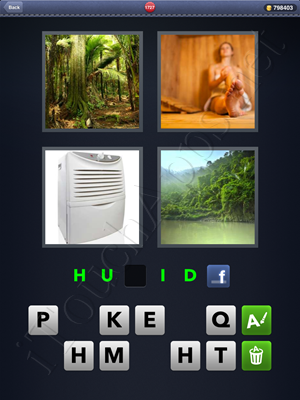 4 Pics 1 Word Level 1727 Solution