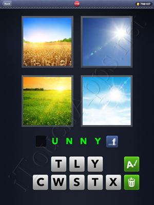 4 Pics 1 Word Level 1728 Solution