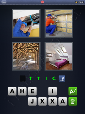 4 Pics 1 Word Level 1731 Solution