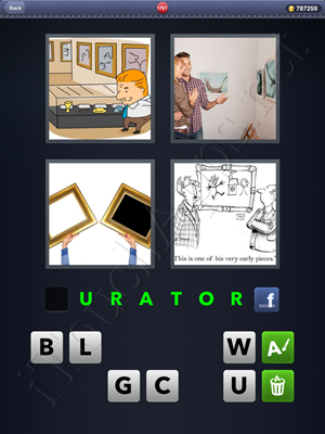 4 Pics 1 Word Level 1761 Solution