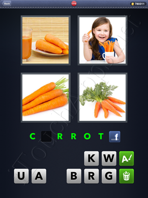 4 Pics 1 Word Level 1779 Solution