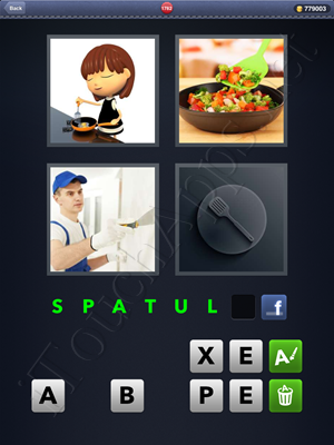 4 Pics 1 Word Level 1782 Solution