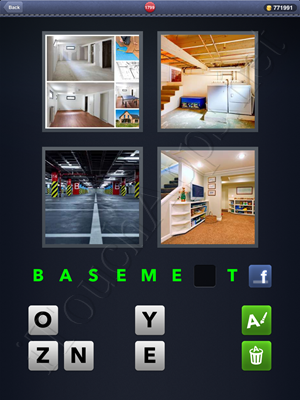 4 Pics 1 Word Level 1799 Solution
