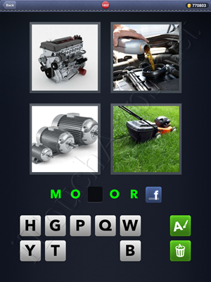 4 Pics 1 Word Level 1802 Solution