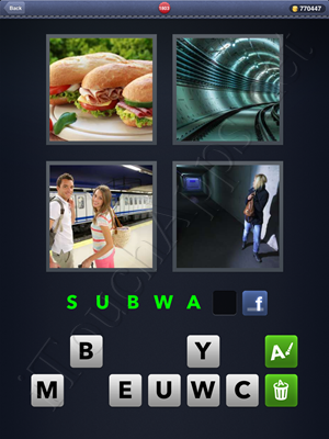 4 Pics 1 Word Level 1803 Solution
