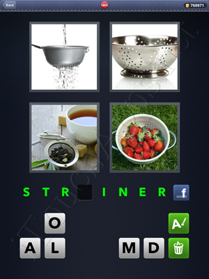4 Pics 1 Word Level 1804 Solution