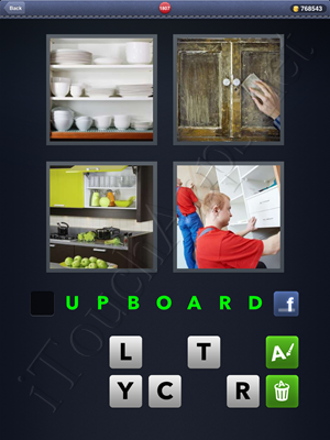 4 Pics 1 Word Level 1807 Solution