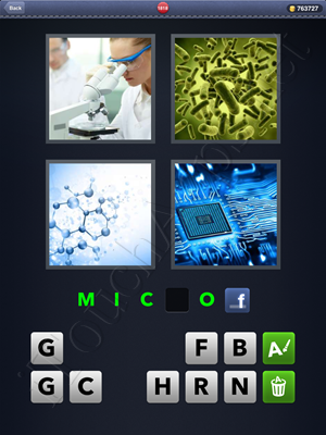 4 Pics 1 Word Level 1818 Solution