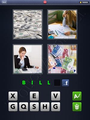 4 Pics 1 Word Level 1825 Solution