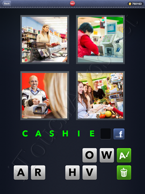 4 Pics 1 Word Level 1827 Solution