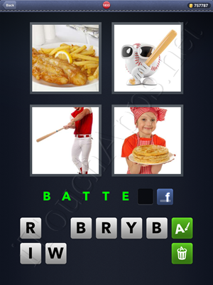 4 Pics 1 Word Level 1833 Solution