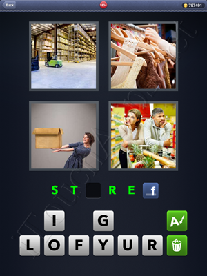 4 Pics 1 Word Level 1834 Solution