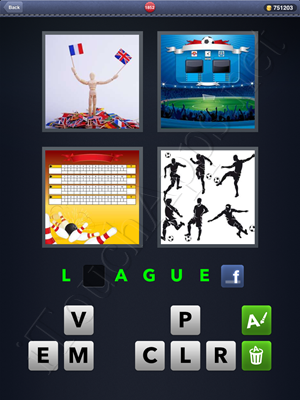 4 Pics 1 Word Level 1852 Solution