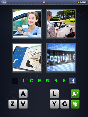 4 Pics 1 Word Level 1857 Solution