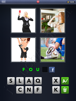 4 Pics 1 Word Level 1860 Solution