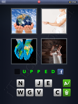 4 Pics 1 Word Level 1862 Solution
