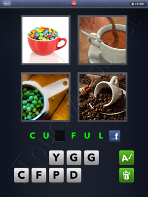 4 Pics 1 Word Level 1863 Solution