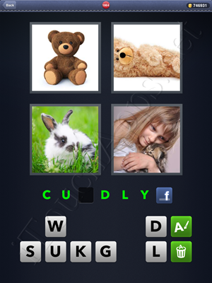 4 Pics 1 Word Level 1864 Solution